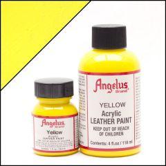 Angelus Lederfarbe Gelb