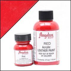 Angelus Lederfarbe Rot