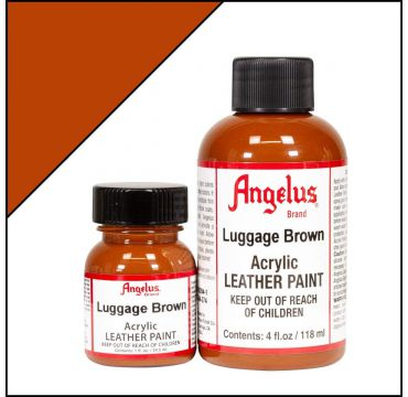 Angelus Lederfarbe Luggage Brown