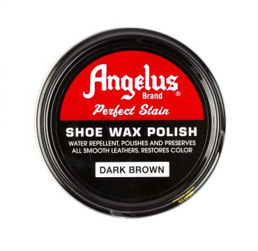 Angelus Shoe Wax Polish Dunkelbraun