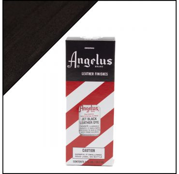 Angelus Leather Dye Jet Black 88ml