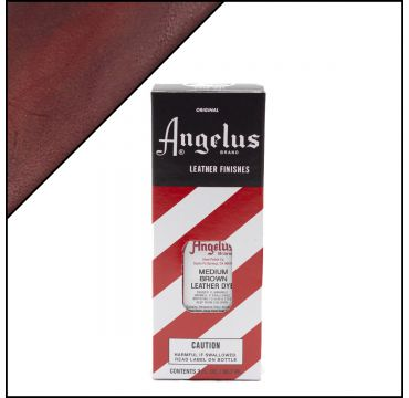 Angelus Leather Dye Medium Braun 88ml