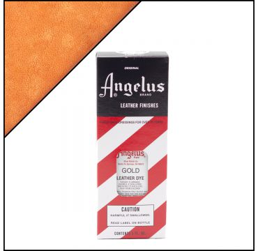 Angelus Leather Dye Gold 88ml