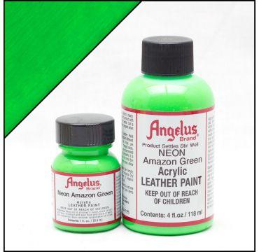 Angelus Lederfarbe Amazon Grün
