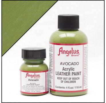 Angelus Lederfarbe Avocado