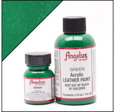 Angelus Lederfarbe Grün