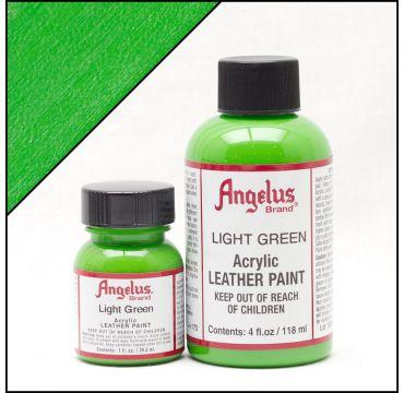 Angelus Lederfarbe Hellgrün