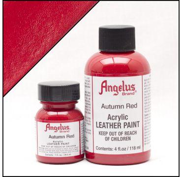 Angelus Lederfarbe Herbst Rot