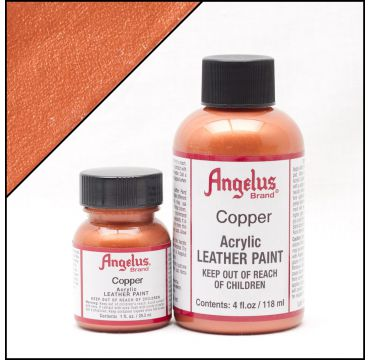 Angelus Lederfarbe Kupfer