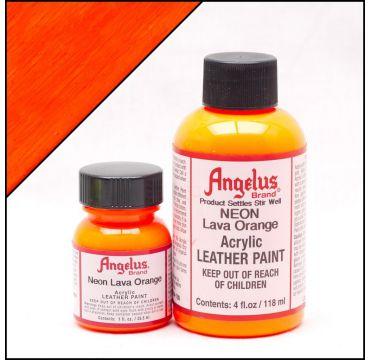 Angelus Lederfarbe Lava Orange