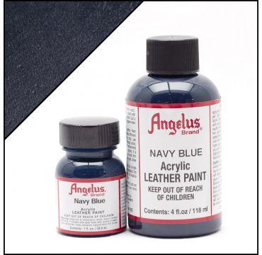 Angelus Lederfarbe Marineblau