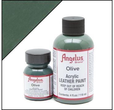 Angelus Lederfarbe olivgrün