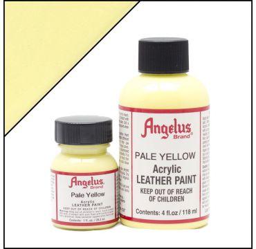 Angelus Lederfarbe Pastell Gelb