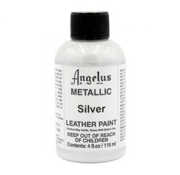 Angelus Lederfarbe Silber