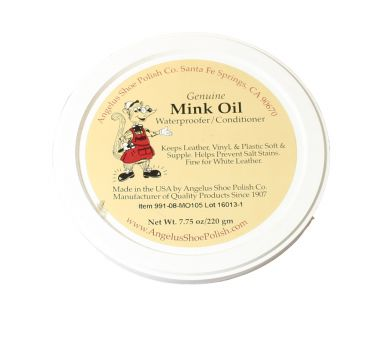 Angelus Shoe polish Mink Oil 215 g
