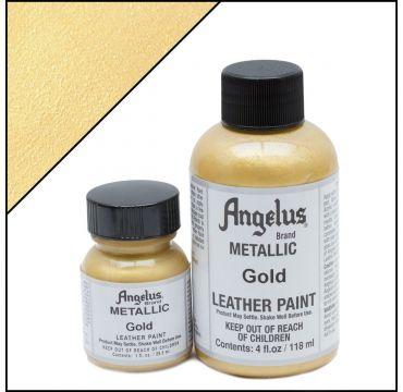 Angelus Lederfarbe Gold