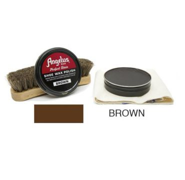 Angelus Shoe Wax Polish Braun